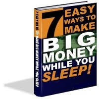 FREE eBook with MRR Master Resell Rights 7 Easy Ways To Make Big Money While You Sleep