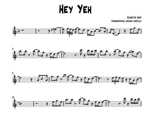 """Everette Harp - """"Hey Yeh"""" - Sax alto."""
