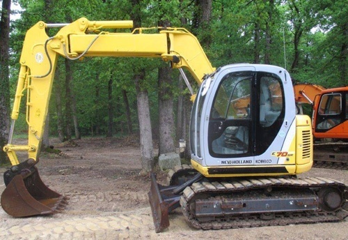 Fiat Kobelco E70SR Evolution Exavator Service Repair Workshop Manual Download
