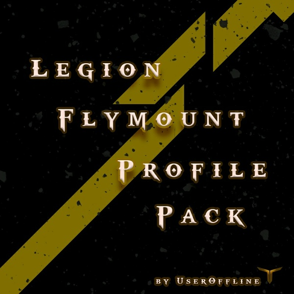 Legion Fly Mount Pack & Legion Ground Mount Pack
