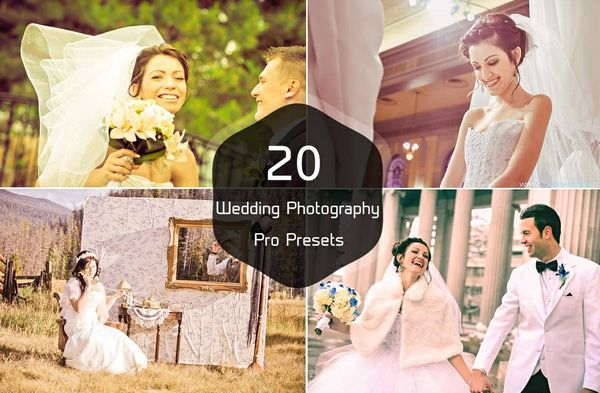 20 Wedding Photography Pro Lightroom Presets