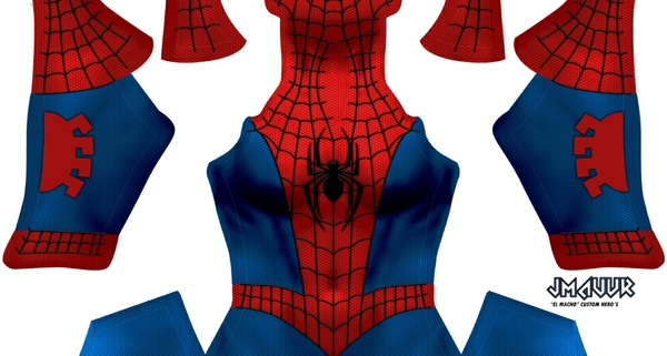 Ultimate Spider-man V8 (woman shading)