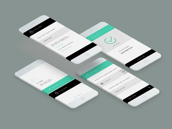 Free Money Transfer App Template