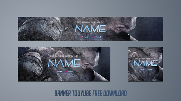 Template Banner Youtube 2016 #2