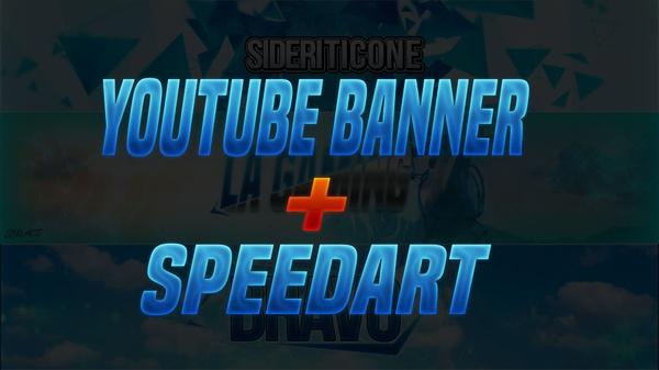 Youtube Banner + SpeedArt