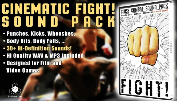 FIGHT! Sound Effects Library, Royalty Free Cinematic Samples