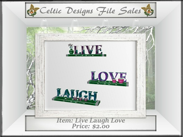 CD Live Laugh Love