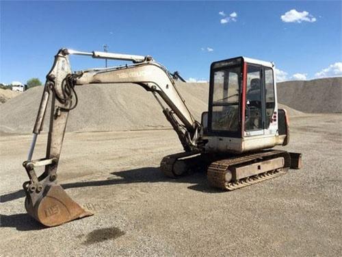 Takeuchi TB045 Compact Excavator Service Repair Workshop Manual Download