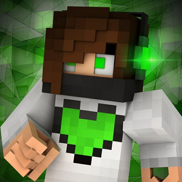 3D Minecraft Profile Picture