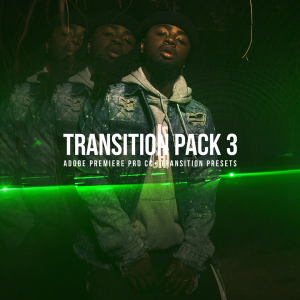 Transitions Pack 3 | ADOBE PREMIERE PRO CC+