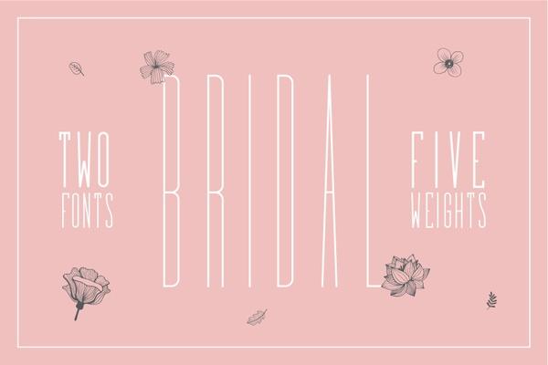 Bridal - Free Font - Personal Use
