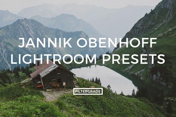 Filtergrade Jannik Obenhoff Lightroom Presets