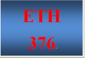 ETH 376 Week 2 Ethicality of Accounting Activities
