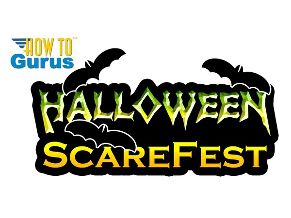 How to Make a Creepy Halloween Text Logo in Photoshop CS5 CS6 CC Tutorial