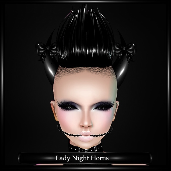 Lady Night Horns Mesh