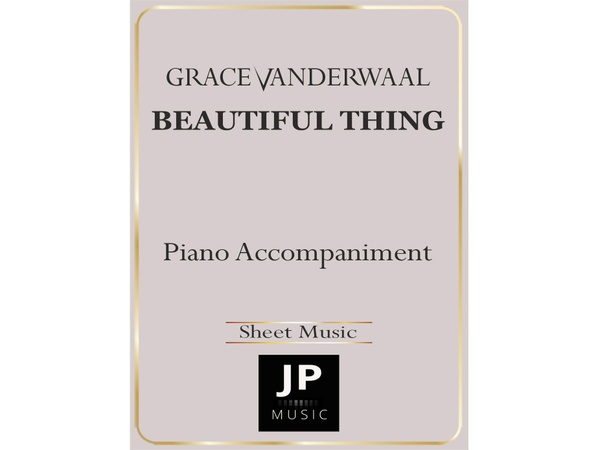 Beautiful Thing - Piano Accompaniment