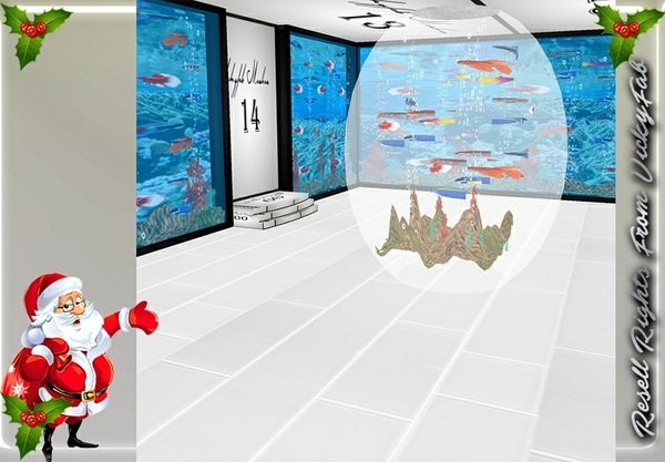 Small Underwater Room Mesh Catty Only!!!