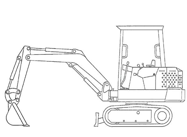 Bobcat X 225 Excavator Service Repair Manual Download(S/N 508311001–508311999)