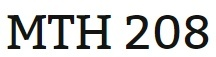 MTH 208 Week 1 MyMathLab Study Plan for Week 1 Checkpoint