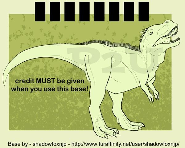 Dinosaur adoptable