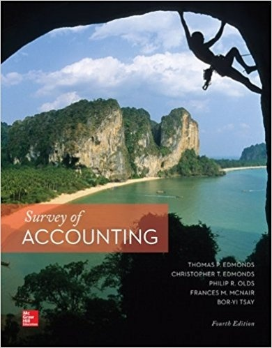 Survey of Accounting 4th Edition PDF