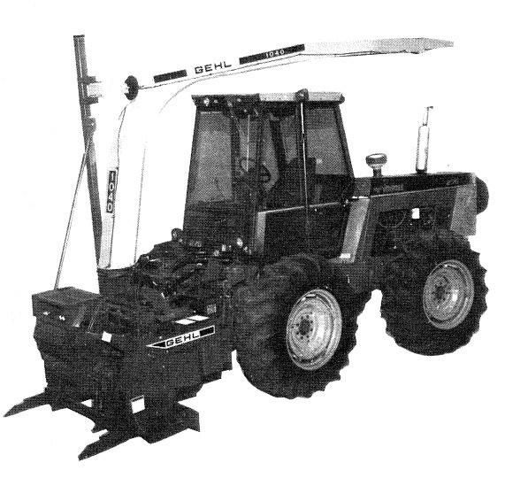 GEHL 1040 Forage Harvester Parts Manual