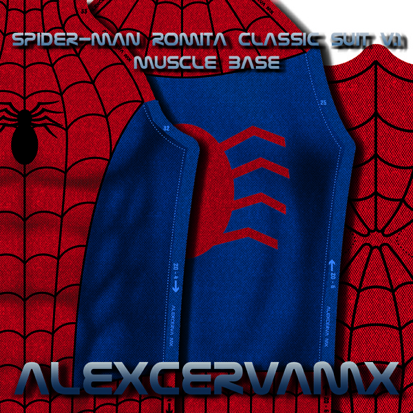 AlexCerva's SM Romita Classic Suit v 1 Dye-Sub Pattern (With Shade)