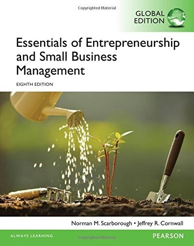 Essentials of Entrepreneurship and Small Business Management,8th edition ( PDF, Instant download )