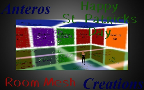Room Mesh -- Happy St. Patricks Day