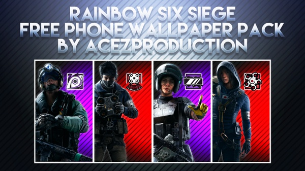 Rainbow Six Siege V2 - Phone Wallpaper Pack - Free Download