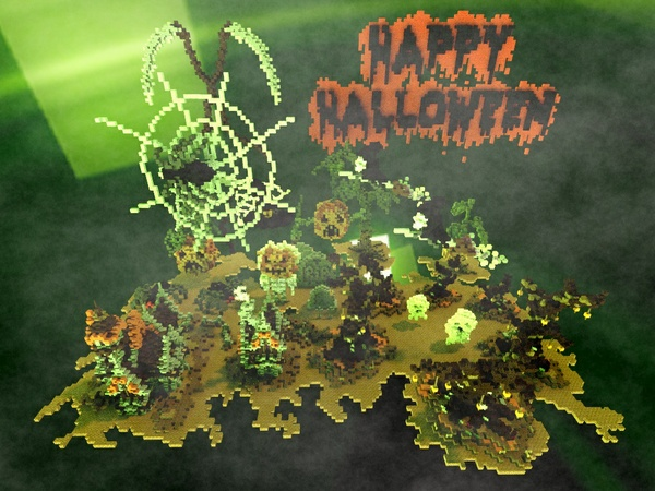 Halloween decoration pack (for Minecraft )