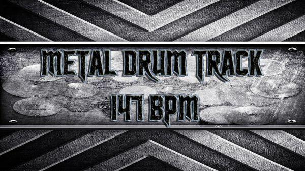 Metal Drum Track 147 BPM