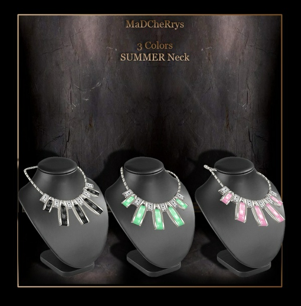MAD SUMMER NECK 3 COLORS