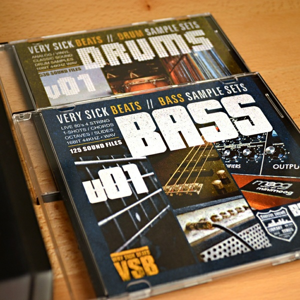 Very Sick Drums & Bass Sample Library Bundle
