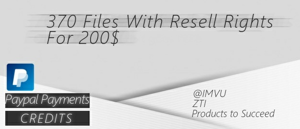 370 Files With Resell Rights