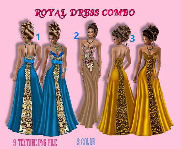 ROYAL DRESS COMBO