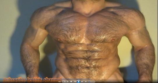 awesome hairy shape