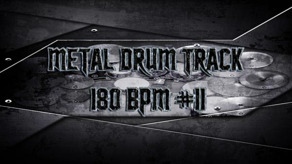 Metal Drum Track 180 BPM #11 - Preset 2.0