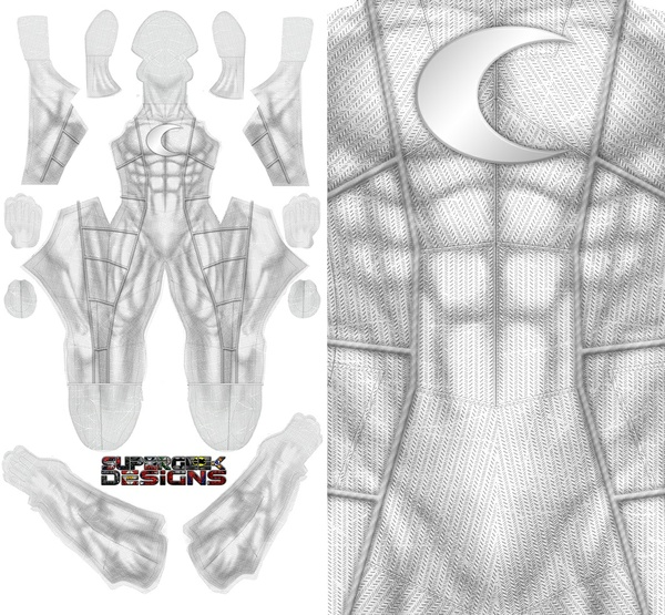 MOONKNIGHT (updated design) pattern file