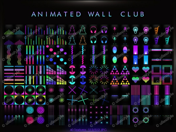 ANIMATED WALL CLUB