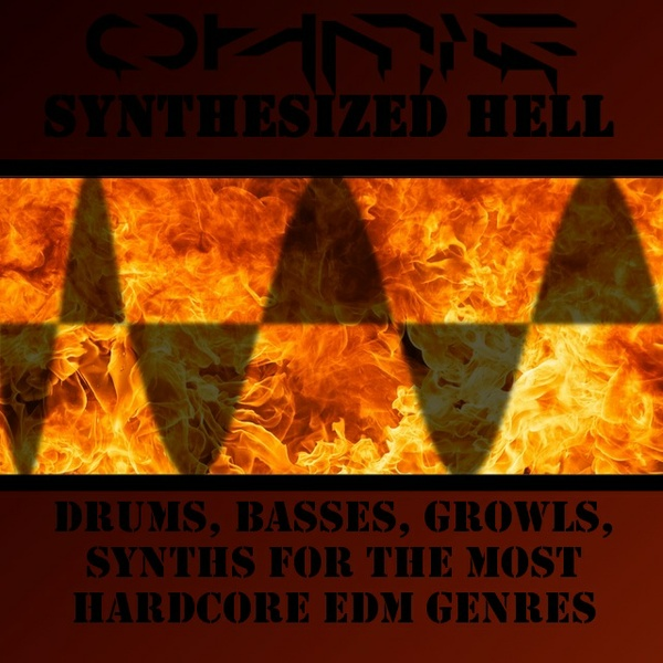 Ohmie's Synthesized DRUM Hell - Sample pack for all hardcore EDM genres (includes only the drums)