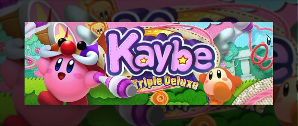 Header for Kaybe (styles and text included)   Template PS