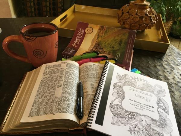 Intentional Living Journal Sampler - April 24, 2016 A Family Reunion