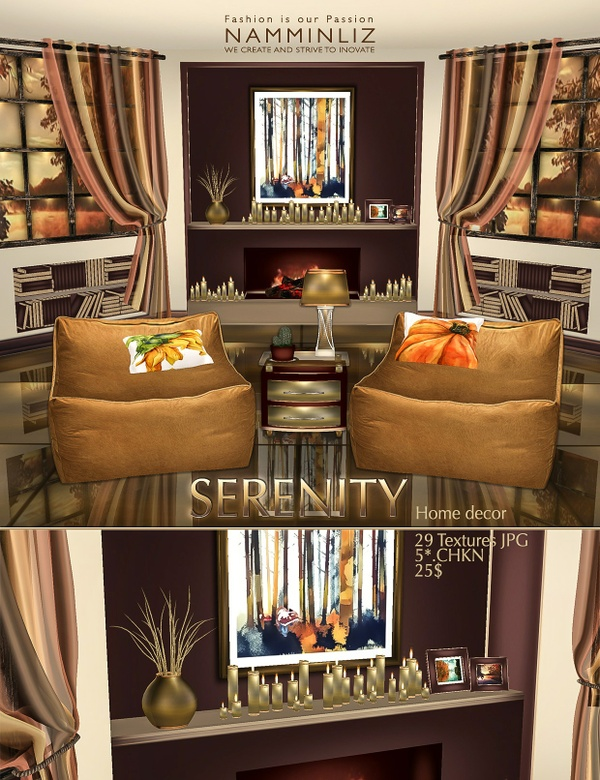 SERENITY Home Decor 29 Textures JPG  imvu NAMMINLIZ