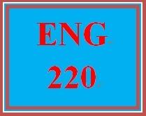 ENG 220 Week 3 Prewriting Worksheet