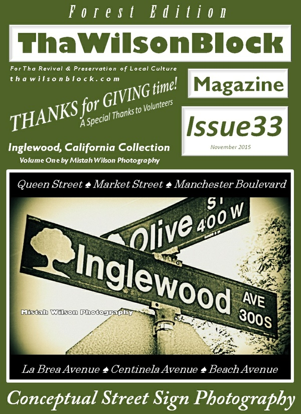 ThaWilsonBlock Magazine Issue33 Forest Edition