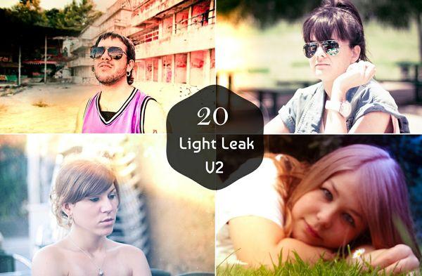 20 Premium Light Leak Lightroom Presets V-2