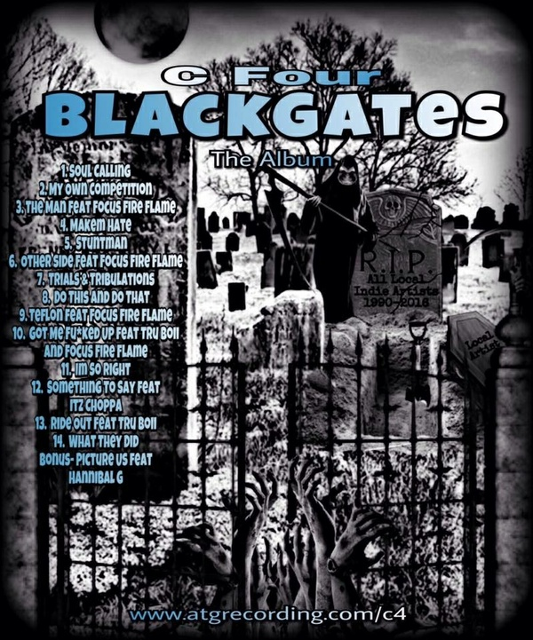 BLACK GATES The Album by C Four
