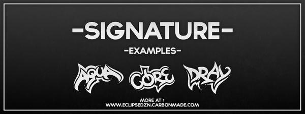 Signature [TEMP CLOSED]