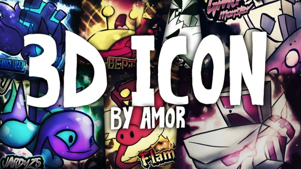3D ICON BY AMORALTRA (SHOP IS CLOSED! DONT BUY)